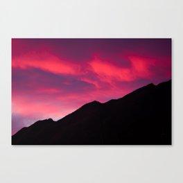 Rave Mountain Canvas Print