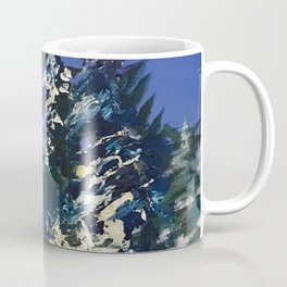Forêt nordique d'hiver Coffee Mug
