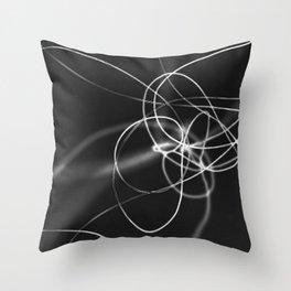 Fallen String #2 Throw Pillow