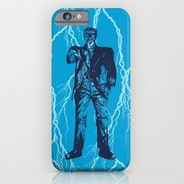 Frankenstein Pattern iPhone Case