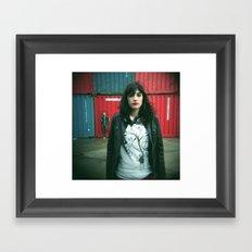 Marina y Carlos Framed Art Print