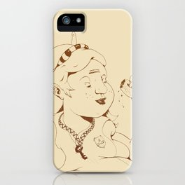 Alice stuck in the wonderland ! iPhone Case