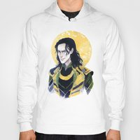 enerjax Hoodies featuring Loki of Asgard by enerjax