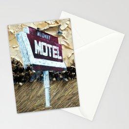 Midway Motel Stationery Cards