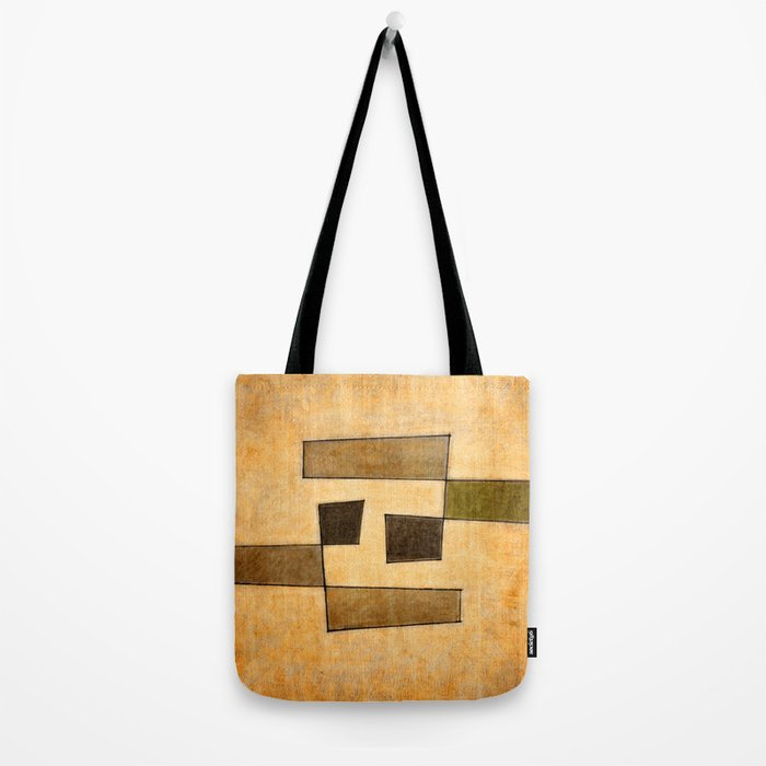 Protoglifo 03 'brown dance' Tote Bag