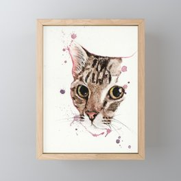 Catcat Framed Mini Art Print