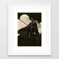 darth vader Framed Art Prints featuring Darth Vader by Peter Coleman