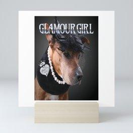 Glamour Girl Mini Art Print