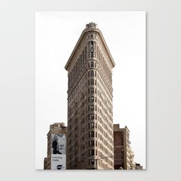 Flat Iron NYC Canvas Print