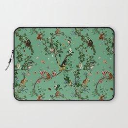 Monkey World Green Laptop Sleeve
