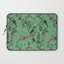 Monkey World Green Laptop Sleeve