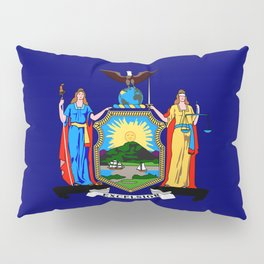 New York State Flag Pillow Sham