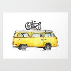 Transport Art Print