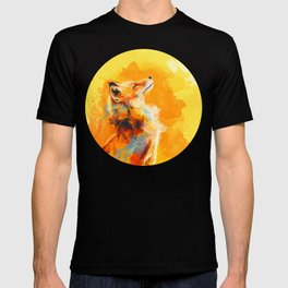 Blissful Light - Fox portrait T-shirt