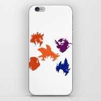 foo fighters iPhone & iPod Skins featuring Z Fighters by luvusagi