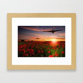Poppy Vulcans Framed Art Print