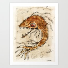 Fish Time Art Print