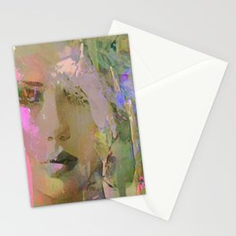 The nameless girl Stationery Cards