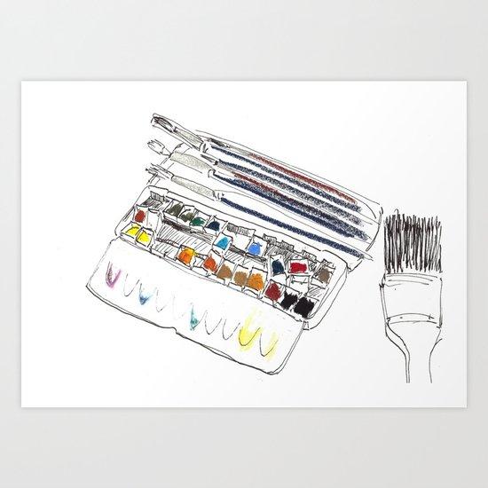 atelier I Art Print