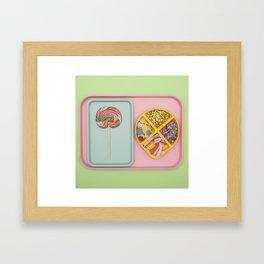 Party Tray Framed Art Print