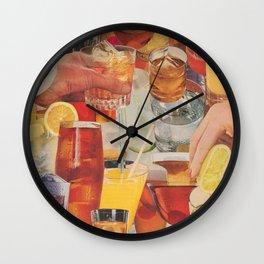 Shaken, Not Stirred Wall Clock