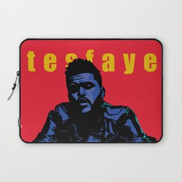 The Weeknd: Blue Period Laptop Sleeve