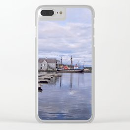 Harbor View Clear iPhone Case