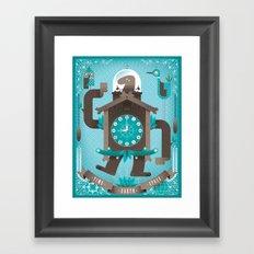 Cuckoo-o-tron Framed Art Print