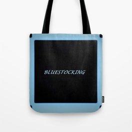 Bluestocking Tote Bag