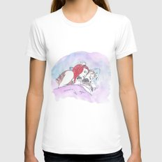 Eternal Sunshine of the Spotless Mind Womens Fitted Tee MEDIUM White