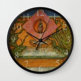 Apprentice Stone Mason's 1st Project Wall Clock