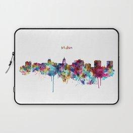 Madison Skyline Silhouette Laptop Sleeve