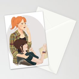 Modern University AU Stationery Cards