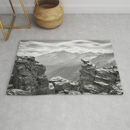 Longs Peak Rocky Mountain National Park Colorado Rug