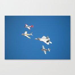 2014 Heritage Flight Canvas Print