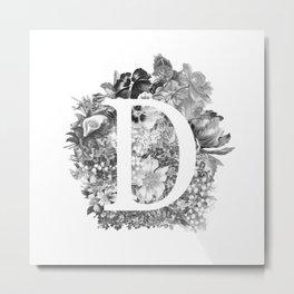 Flower D Metal Print