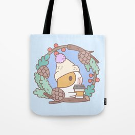 Bubu the Guinea pig, Fall Coffee Tote Bag