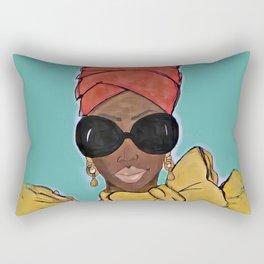 Super Bad Sistah Rectangular Pillow