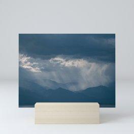 Dramatic Sky, Salton Sea Mini Art Print