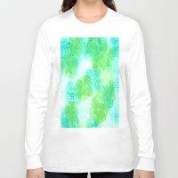 hydrangea Long Sleeve T-shirts featuring hydrangea by Kim Codner Designs