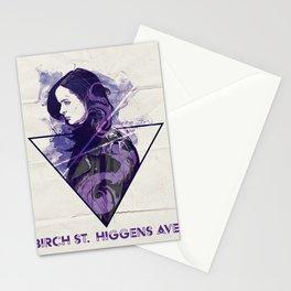 Birch St. Higgins Ave. Stationery Cards