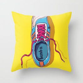 My lovely shoe Throw Pillow