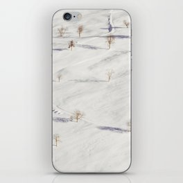 White Winterscapes I iPhone Skin