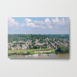 The Ohio from Eden Park Metal Print