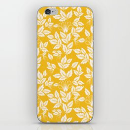 Leaves Pattern 11 iPhone Skin