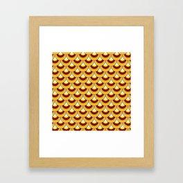 Koi Nobori Himawari Framed Art Print