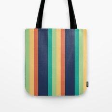 Happy Stripes Tote Bag