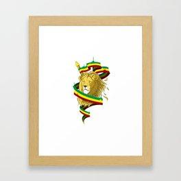 Reague Lion Framed Art Print
