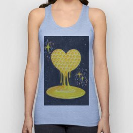 Melting into love Unisex Tank Top