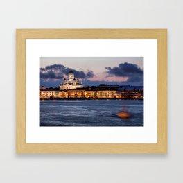 Helsinki 2 Framed Art Print